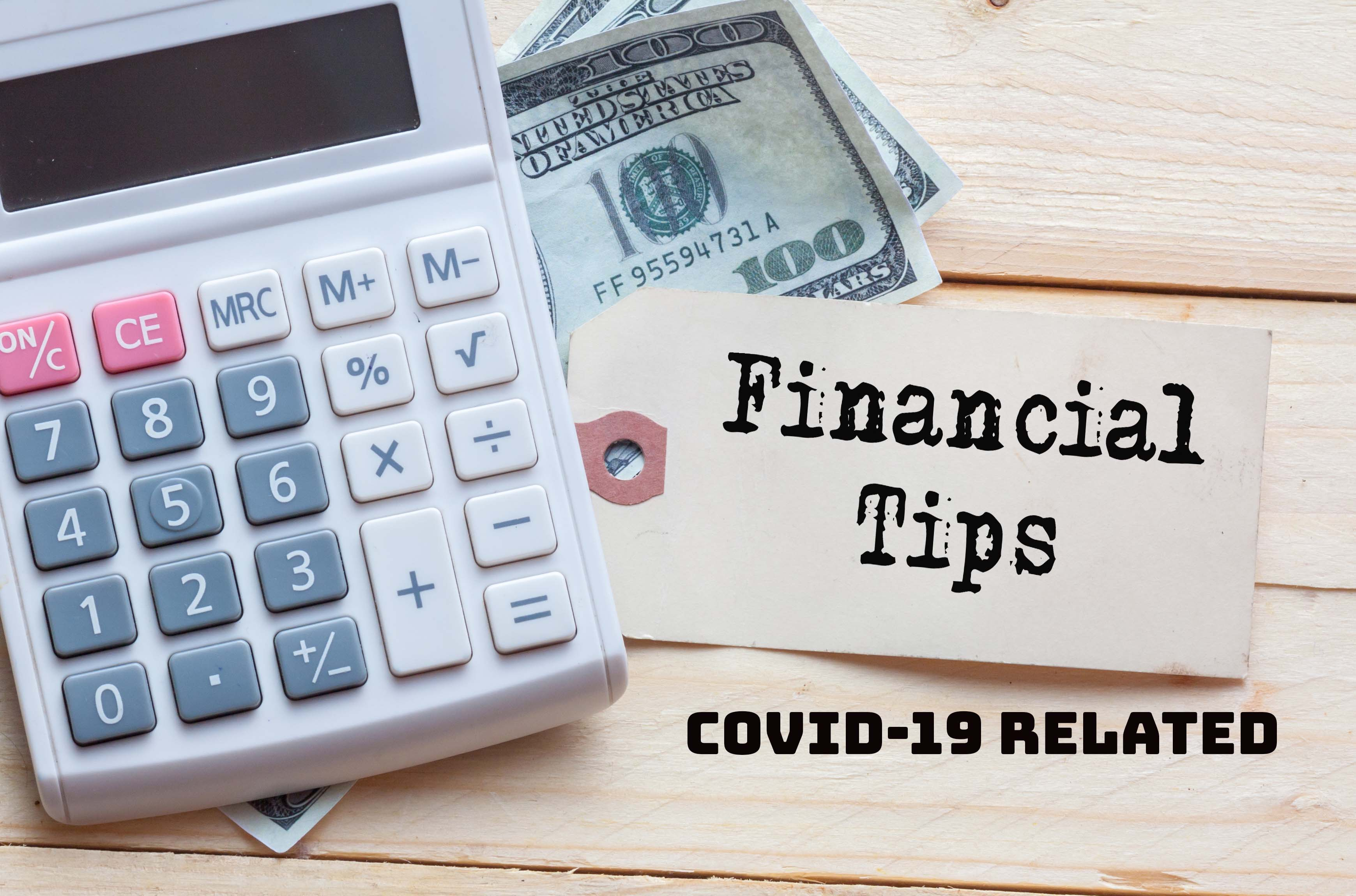 covid financial tips